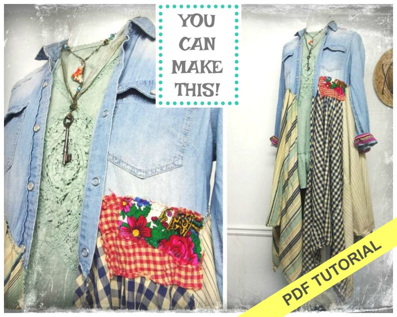 Sewing Pattern  Sewing Tutorial  Jacket Pattern  Sewing image 0