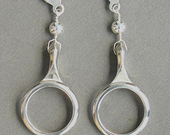 Clarinet Ring Key Earrings
