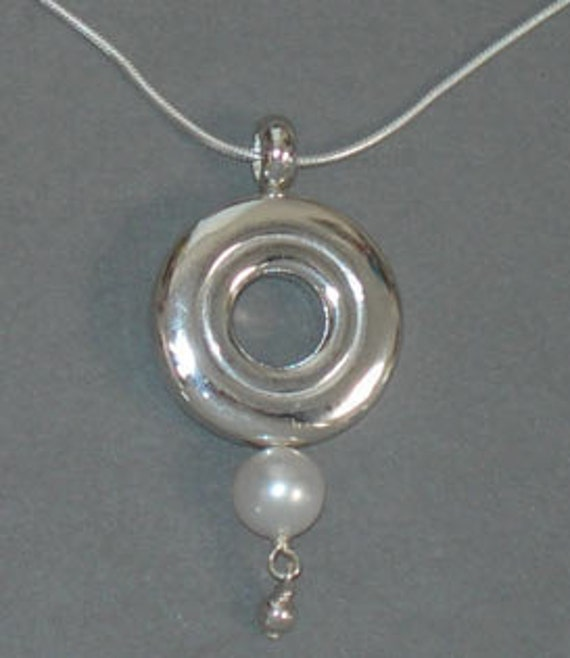Open Hole Flute Key Single Pearl