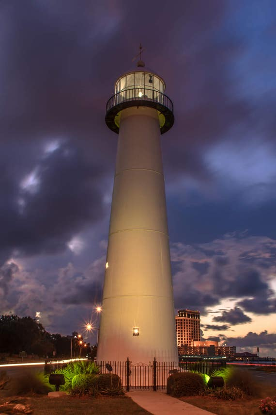 Biloxi Lighthouse 5 Biloxi Ms Photograph By Gulf Coast Etsy