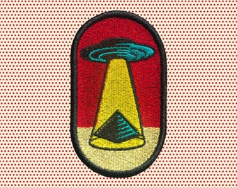Pyramid Abduction Patch