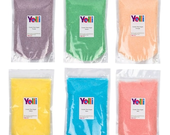 Candy Floss Sugar 500g | Resealable Bag | 6 Colours | 7 Flavours
