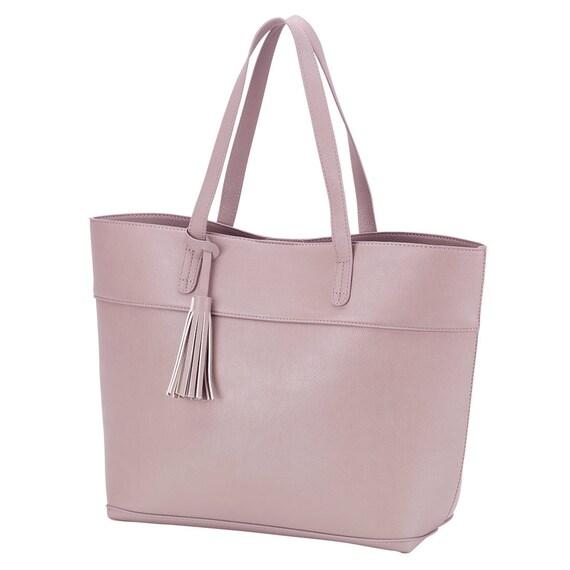 blush aubrey purse handbag monogrammed purse diaper bag handbag personalized purse