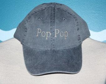 Weytff FUUNY Snapback Baseball Cap Worlds Greatest POP POP Breathable Plain Black Vintage Sport Dad Hat Women Men