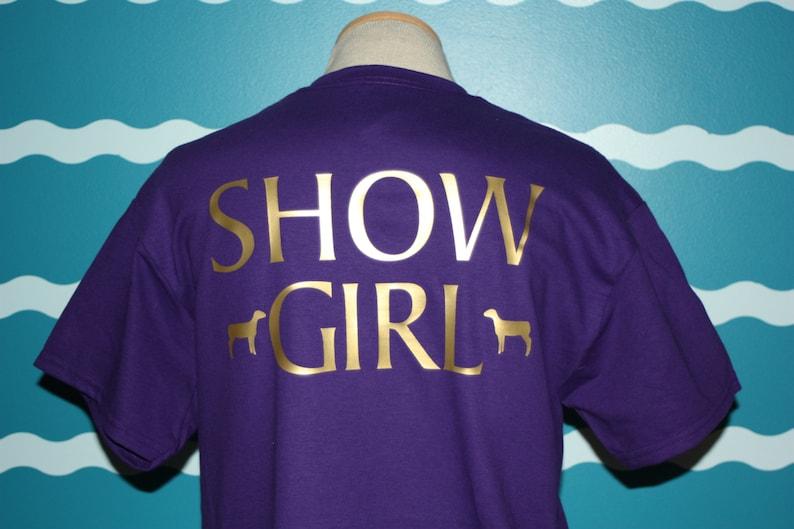 11505f26 Custom Sheep shirt personalized sheep show t-shirt show   Etsy