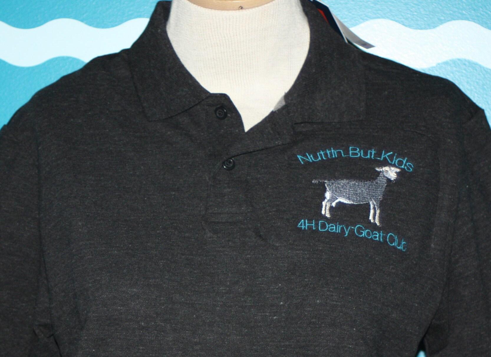 Livestock Polo Custom Polo Shirt Dairy Goat Polo Shirt Etsy