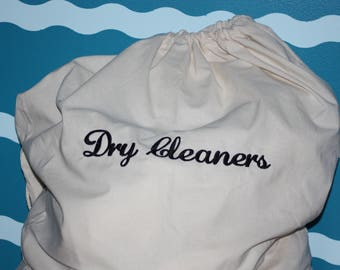 Dry Cleaners Laundry Bag - Laundry Dry Clean - Laundry Hamper - Personalized Laundry Bag - Large Dry Cleaners Bag - Hamper Bag