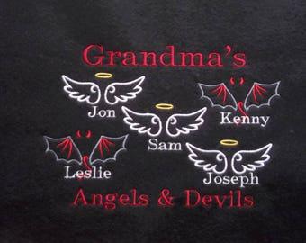 Personalized Grandparent Shirt - Sweatshirt for Grandma - Crew Neck Plus Size Sweatshirt - Custom Grandparent Sweatshirt