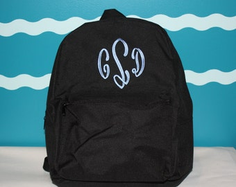 School BackPack - Monogrammed BackPack - Personalized School bag - Back to school supply - laptop backpack personalized