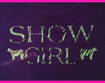 Cow Show Girl hooded sweatshirt - livestock show girl hooded sweatshirt - 4H livestock shower - Show Heifer Sweatshirt - Livestock Shower