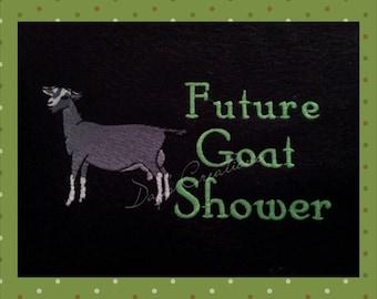 Dairy Goat t-shirt - Future Dairy shower shirt - livestock shower t-shirt - Dairy Kid t-shirt - Future show kid shirt