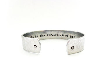 Graduation Gift - Daughters Gift - Go Confidently In The Direction Of Your Dreams - Message Bracelet - Graduation Gift - By Timeless Maiden