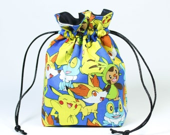 Pokemon Drawstring Bag, Dice Bag