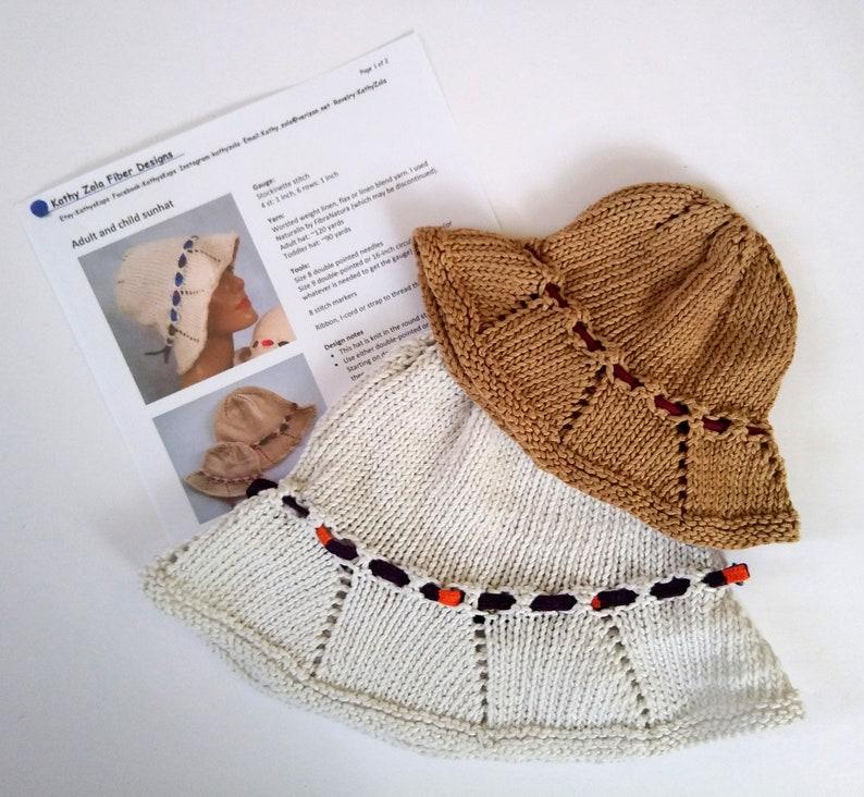 knitting pattern bucket hat knit sun hat pattern knit your image 0