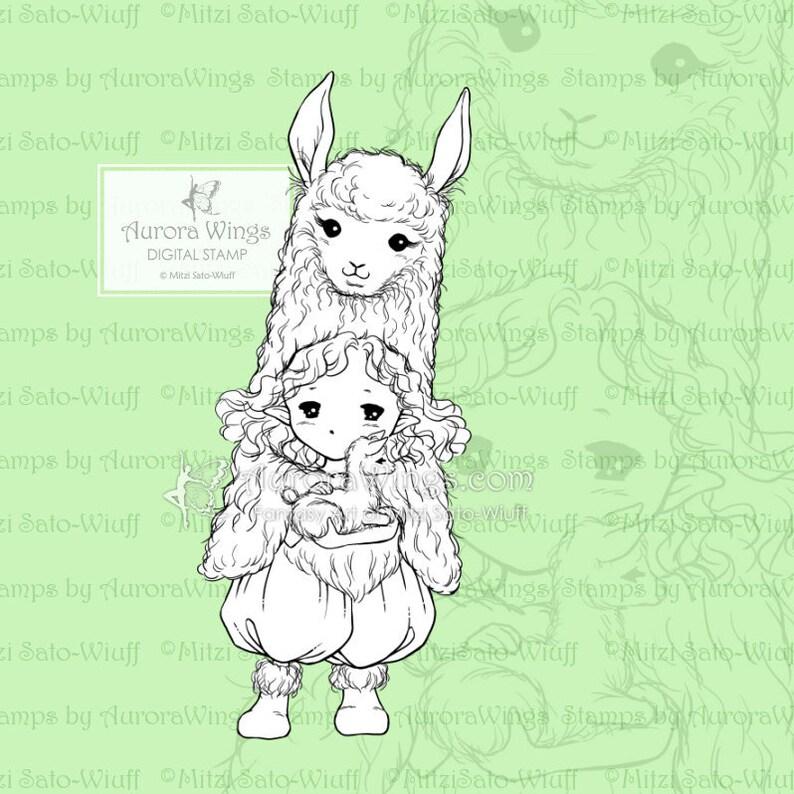 Kleurplaten Van Baby Eendjes.Png Llama Sprite Baby Alpaca Elf Grillige Pasen Baby Dier Etsy