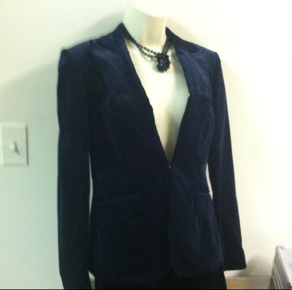 Blue Velvet Classic Blazer