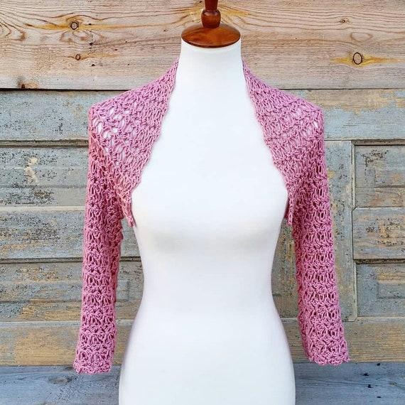 Crochet Pattern For The Highland Thistle Shrug Crochet Etsy