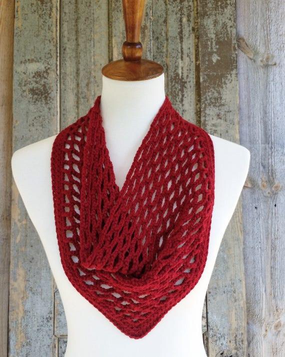 Triangle Scarf Crochet Pattern Free Crochet Diagram Optional Fringe Lace Crochet Pattern Got Free Crochet Pattern With Purchase