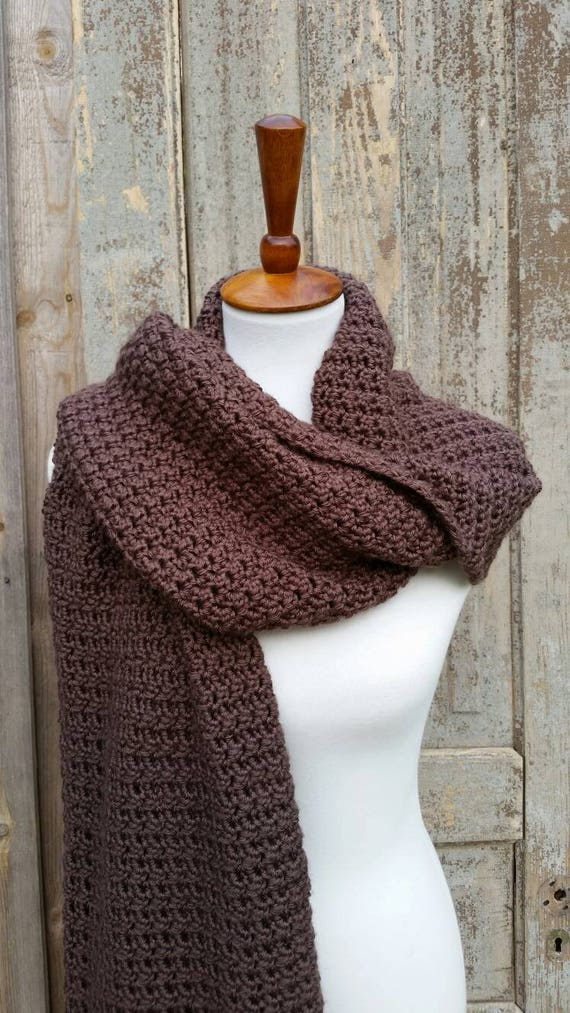 Blanket Scarf Crochet Pattern Oversized Blanket Scarf Crochet Etsy