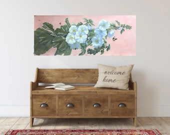Made to Order Large Floral Decorative Painting for your Home