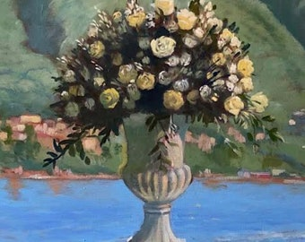 Made to Order Wedding Flowers Painting