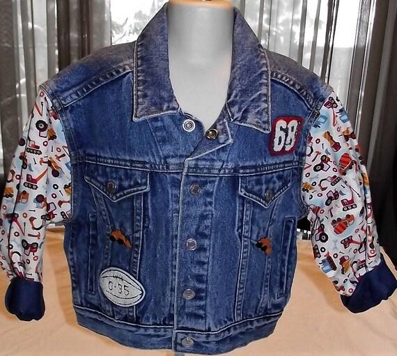Refurbished Boys Denim Jacket, Size 5/6