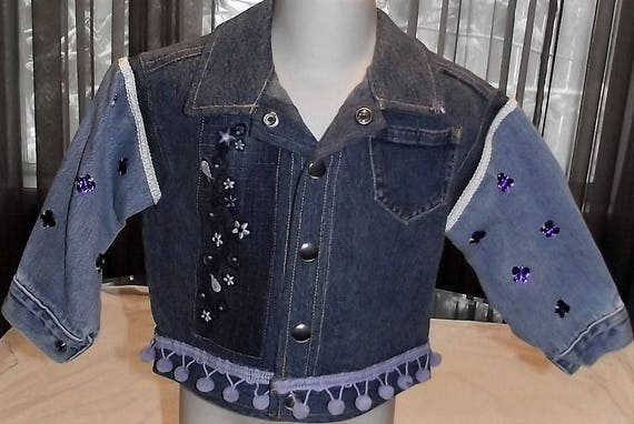 Refurbished Girls Denim Jacket, Size 18mo