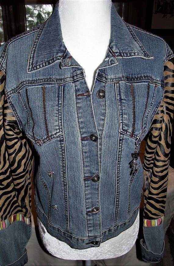 Refurbished Womens Denim Jacket- Size Xlrg