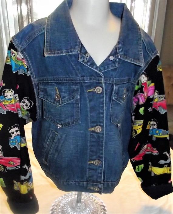 Refurbished Denims Girl Jacket, Size 10/12