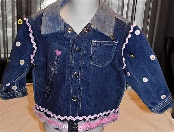 Refurbished girls Denim Jacket, Size 2T
