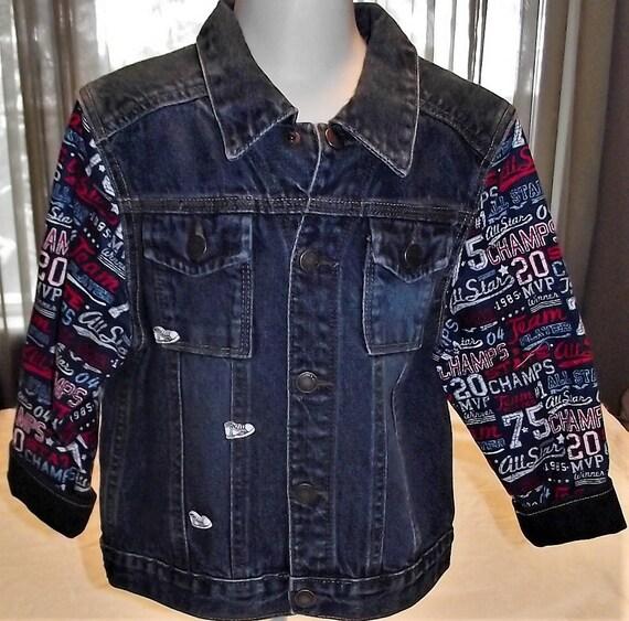 Refurbished Boys Denim Jacket, Size 4T
