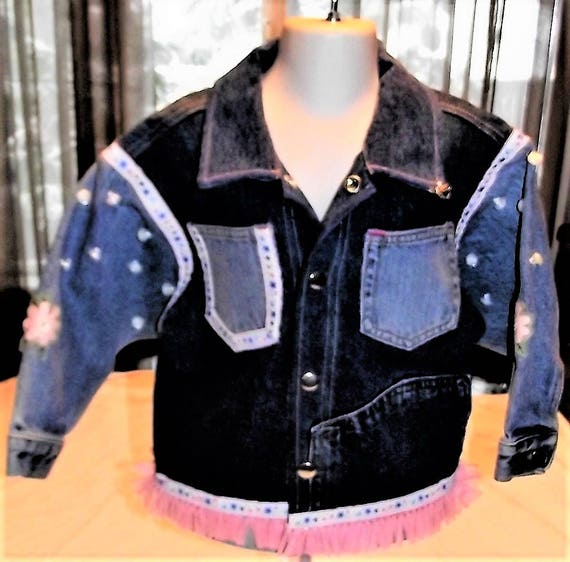 Refurbished Girls Denim Jacket, Size 4T