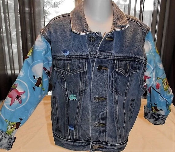 Refurbished Boys Denim Jacket, Size 7