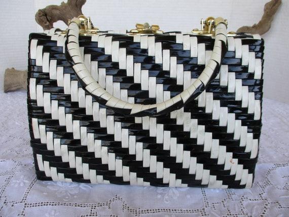 Black & White Marchioness Handbag
