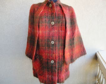 Mohair Cape Style Jacket by Andrew Stewart