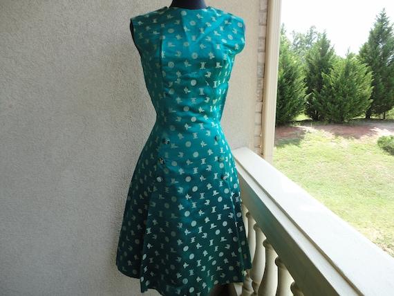 Emerald Green Asian Design Dress