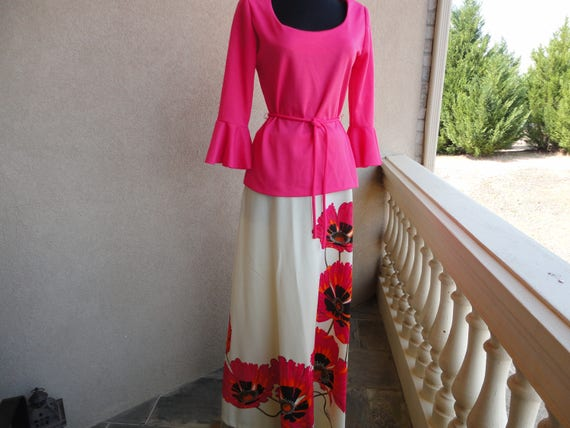 Alfred Shaheen  Two Piece Set