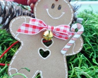 Gingerbread Man Tag, Ginger Bread Man Tag, Christmas Tags, Gift Tags