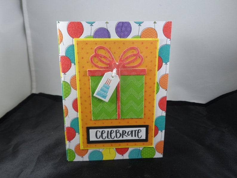 Celebrate Gift Card Holder Birthday Wishes