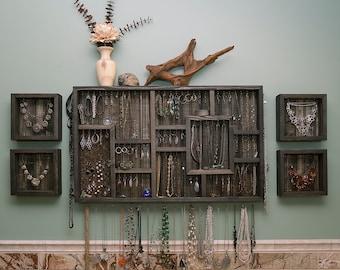 Wall Hanging Jewelry Organizer