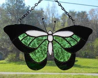 Stained Glass Butterfly Suncatcher - Handcrafted in Tennessee