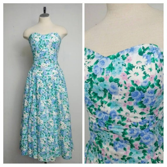 Positively Ellyn | Vintage 80s does 50s Strapless