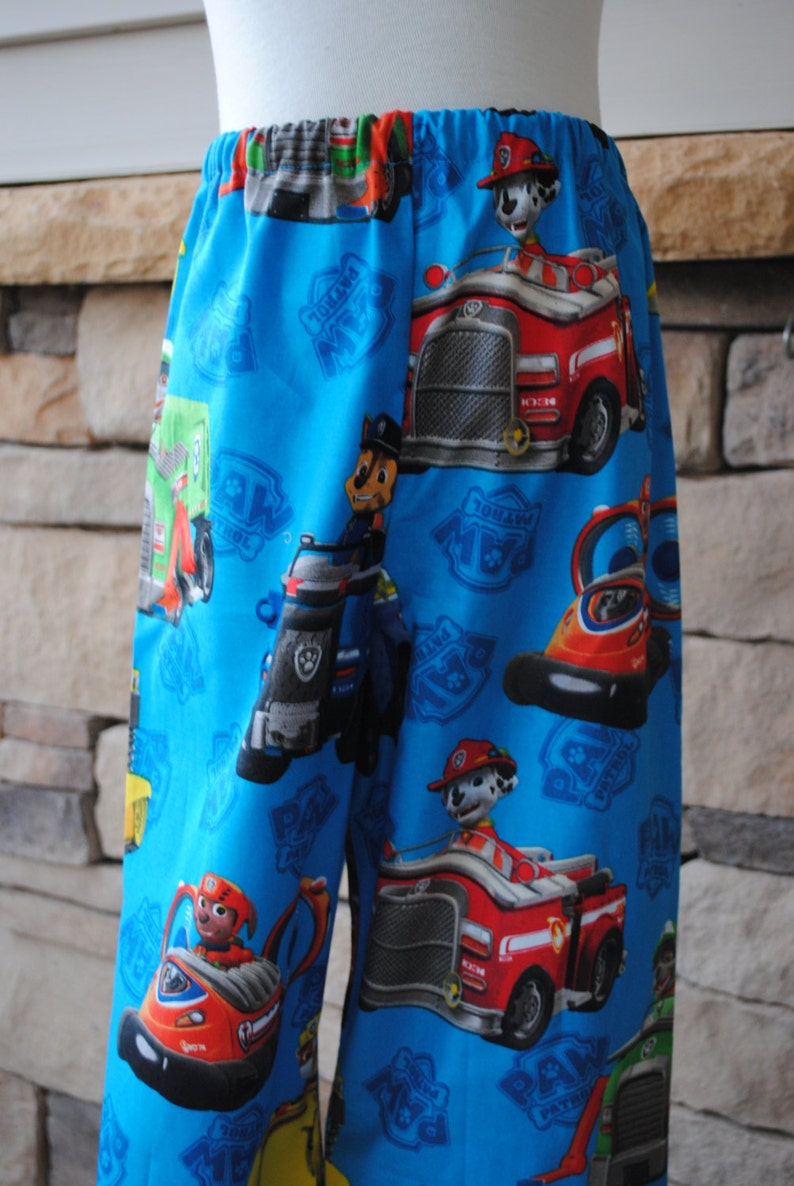 5t 7 8 18mo 4t Birthday Party Gift 3t 6 Paw Patrol Boys or Girls Print Lounge Bottoms 2t 12mo