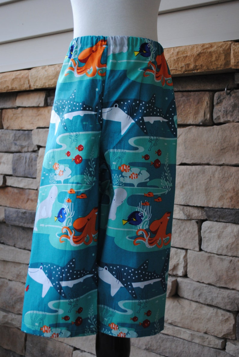 2f8c2800a5 Finding Dory Pajama Pants Boys or Girls Disney Print Lounge | Etsy