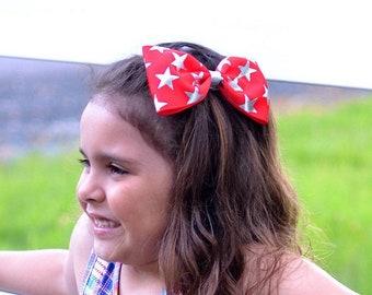 School Girl Bow Baby Headband Girls Bow Strawberry Bow Hair Clip