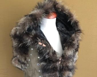 June - Lammy Coat Body Warmer Natural Sheepskin Jacket