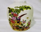 Satsuma Earthenware Decorative Vase 4.5 quot Made in Japan