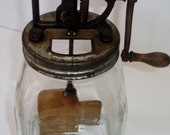 Antique Dazey Butter Churn No 40 Patented Feb. 14, 22-St.Louis, MO-Made in USA-Original Item Purchased During The 1920s-One Owner.