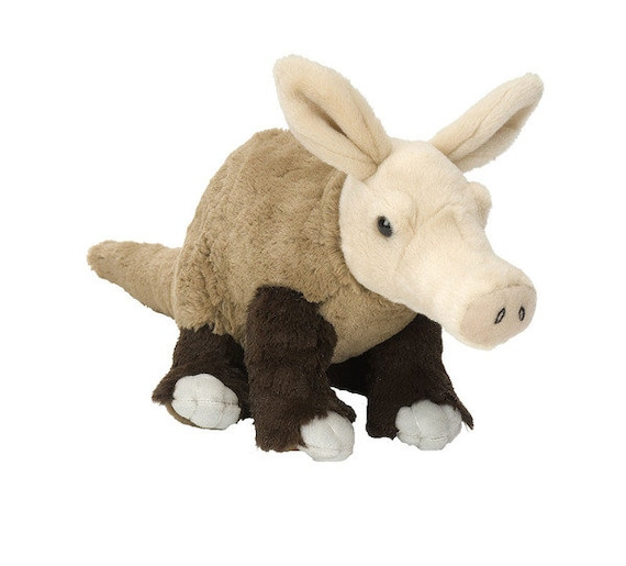 Aardvark Rock escalade craie sac fabriqué à partir de jouet en peluche d'un enfant