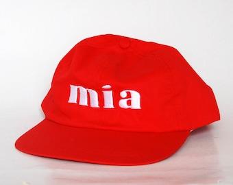932bd326fc163 mia red hat fashion clothes street fashion festival cap hat strapback  vaporwave hat hip hop flat brim sun cap unisex gift baseball